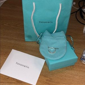 Tiffany & Co. 925 Sterling Silver Ring
